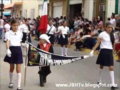 Compostela Nayarit Desfile del 16 de Septiembre del 2011 Parte 1