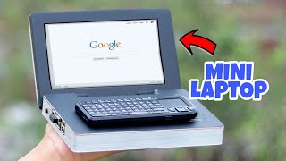 How to Make a Mini Laptop at Home