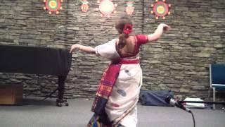 Nirjhorer Swapna Bhango - Dance with recitation