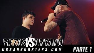 PIEZAS vs ARKANO / PARTE 1 OFICIAL BDM Murcia 2017