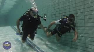 Immersioni, battesimo per un neo sub