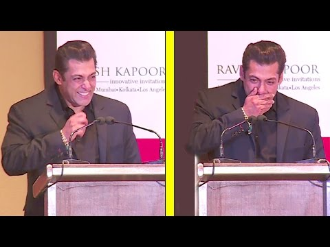 Xxx Mp4 Salman Khan S FUNNIEST Speech Where He Could Nt Stop Laughing At All 3gp Sex