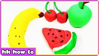How To Make Play Doh Fruits | Popular Play Doh Videos for Kids by HooplaKidz How To
