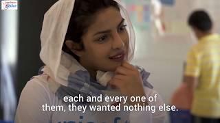 Priyanka Chopra Speech at UNICEF - English Subtitles - Learn English with Famous People