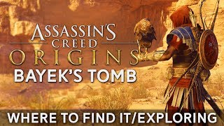 """Where to Find Bayek's Tomb in Assassin's Creed Origins   Exploring the Tomb + """"Relic of Power""""??"""