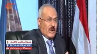 علي عبد الله صالح يقلد الفنان الحاوري