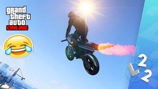 GTA ONLINE - EN MOTORCYKEL MED RAKET OCH VINGAR!