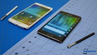 Galaxy Note Edge vs Galaxy Note 4