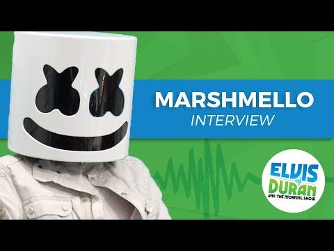 Elvis Duran s Silent AF Interview With Marshmello Elvis Duran Show