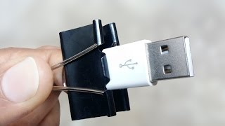 10 Awesome Binder Clip Life Hacks