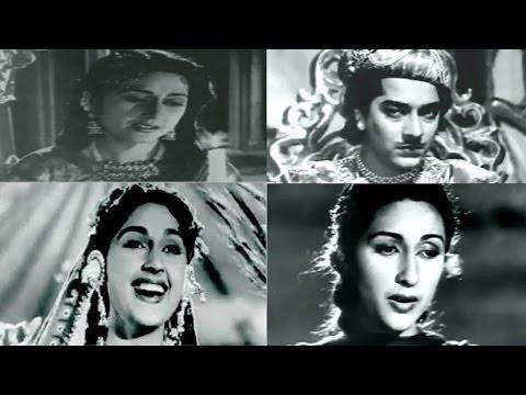 Superhit Songs of Anarkali | Pradeep Kumar, Bina Rai | Classic Bollywood Movie