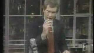 Vince McMahon on Late Night with David Letterman