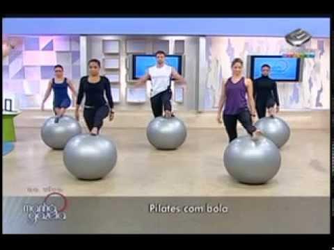 Vibe Academia Pilates com Bola