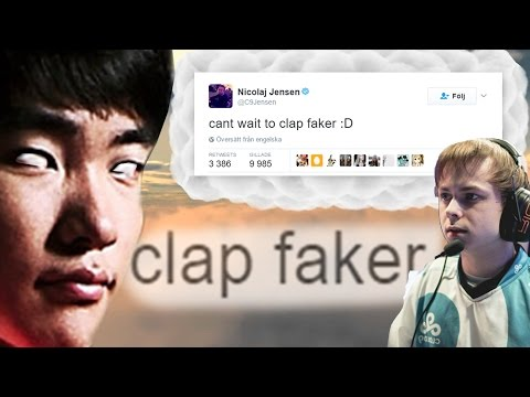 This is what happens when you try to disrespect Faker World Championship 2016