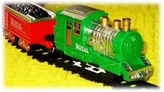 TRAINS FOR CHILDREN VIDEO: Union Pacific Green Retro Train Set Toys Review