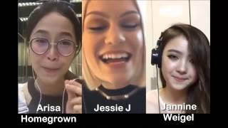 Flashlight - Jessie J & Arisa & Jannine Weigel (Smule Sing! Karaoke App)