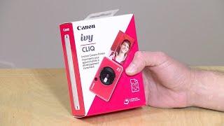 Canon Ivy Cliq Camera Printer Review