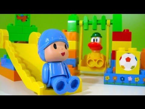 Pocoyo Park NEW Block Labo World Block Bandai Juguetes de Pocoyo