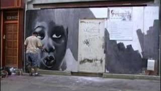 C3P Graffiti Darkelixir en ville