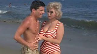 Busty Eva Six All Scenes Beach Party (1963)