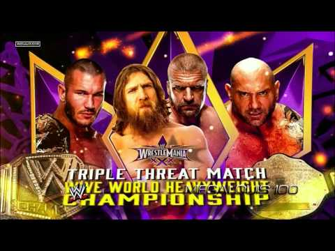 Xxx Mp4 WWE Wrestlemania 30 XXX Official And Complete FULL Match Card HD 3gp Sex