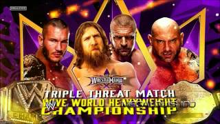 WWE Wrestlemania 30 (XXX) Official and Complete (FULL) Match Card - HD