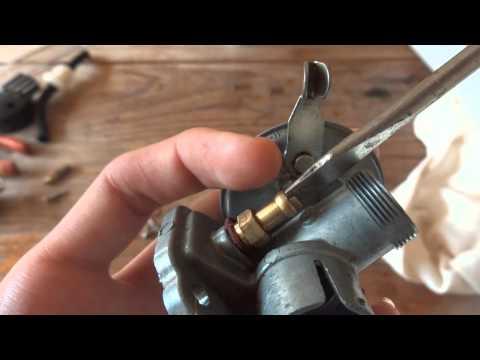 Carburador do motor Bike 80cc 2T Limpeza e Regulagem COMPLETA