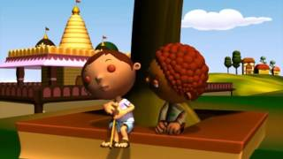 The Two Beggars | A 3D English Story for Children | Periwinkle | Story 12