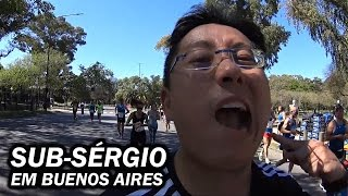 Nishi Sub-Sérgio na Maratona de Buenos Aires