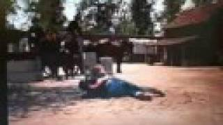 Clint Walker Yellowstone Kelly fight scene