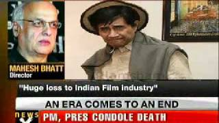 Bollywood pays tribute to legend Dev Anand