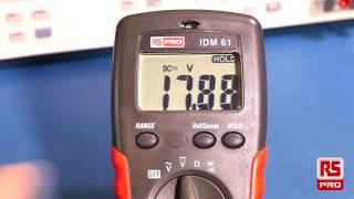 RS Pro IDM 61 Digital Multimeter Review