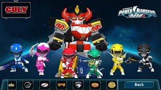 Power Rangers Dash game Siêu nhân đen cầm búa biến hình Robot chạy lụm tiền   funny gameplay
