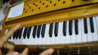 Maar diya ki chhod diya jaaye bol tere sath kya saluk kiya jaaiye harmonium notation in five minut