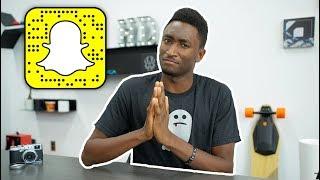 Dear Snapchat!