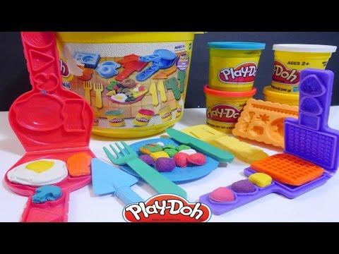 Xxx Mp4 ألعاب الصلصال تحضير فطور معجونة Playdoh Breakfast Playset 3gp Sex
