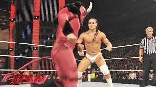 El Torito vs. Bo Dallas: Raw, July 7, 2014