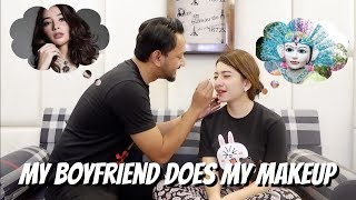 MY BOYFRIEND DOES MY MAKEUP (DIDANDANIN MIRIP NIKITA WILLY?)