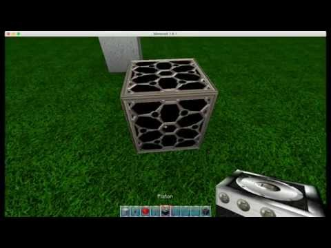 Redstone Tutorial - Minecraft 1.8.1 - How To Create Compact T FlipFlop Toggle Switch Button