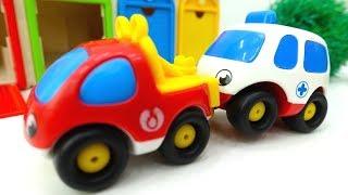 Helper Cars auf Deutsch 🚨 #Spielzeugautos 🚑 haben einen Unfall ⚠️ Helfer Autos Video für Kinder