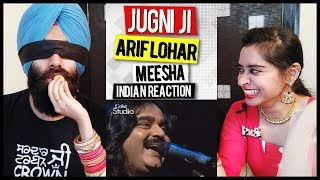 Indian Reaction on Alif Allah, Jugni, Arif Lohar & What is in my Mouth Challenge