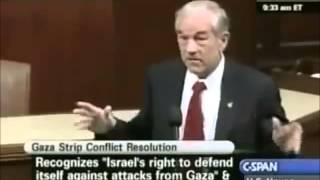Ron Paul: Israel Created Hamas to Fight Yasser Arafat, PLO