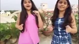 Little Indian girls singing pinga ga pori pinga from Bajirav Mastani