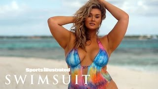 Hunter McGrady Flaunts Curves In Nothing But Body Paint | Model Search | Sports Illustrated Swimsuit