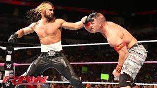 John Cena vs. Seth Rollins: Raw, October, 27, 2014