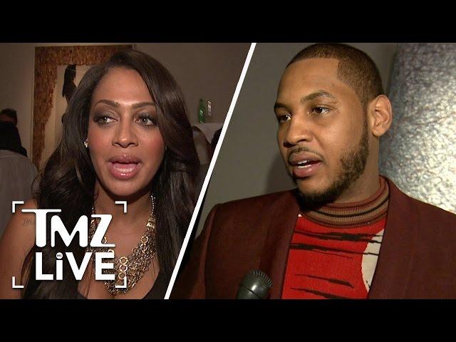 Carmelo & Lala Anthony: Peaceful Divorce I TMZ LIVE