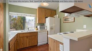 Priced at $302,700 - 26701 Quail Creek #156, Laguna Hills, CA 92656