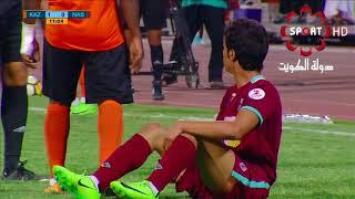 مباراة بين كاظمه والنصر من دوري  فيفا