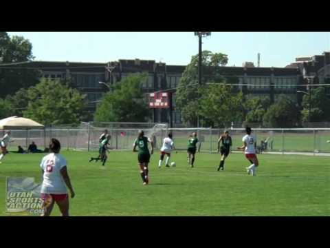 High School Soccer: Payson Lions vs. West Panthers Girls Soccer Highlights 08-16-11.