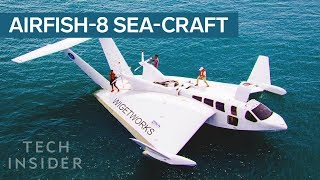 This Sea-Craft Looks Like A Plane, Has A Car